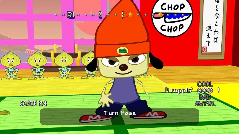 Parappa the Rapper Remastered per PS4 sarebbe in realtà la versione PSP emulata con textura in alta risoluzione