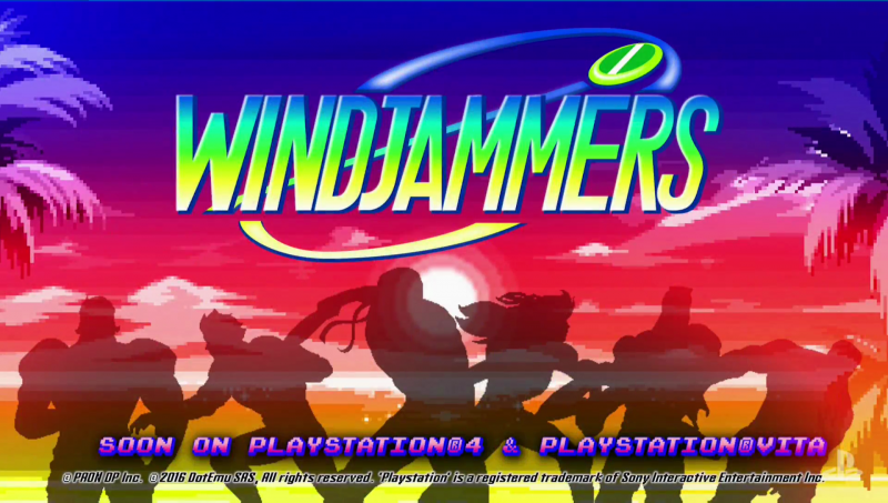 Windjammers ha finalmente una data: uscirà il 29 agosto su PlayStation 4 e PlayStation Vita