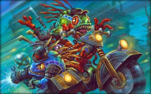 Hearthstone: I Bassifondi di Meccania  per PC Windows