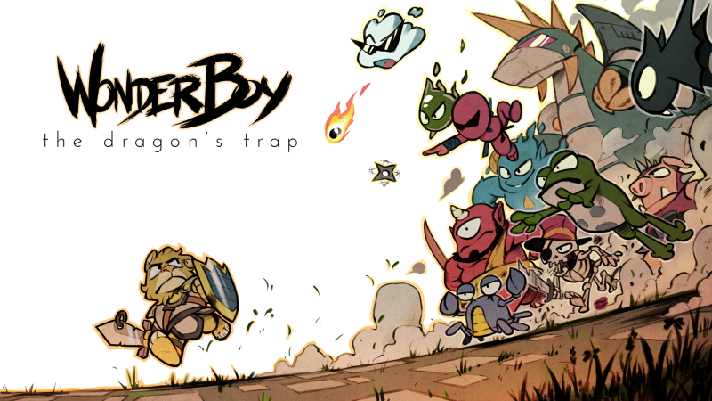 Wonder Boy: The Dragon's Trap uscirà in versione fisica su Nintendo Switch e PlayStation 4 nel 2018