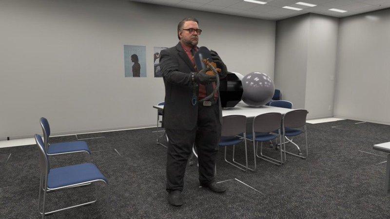 Death Stranding: Guillermo del Toro si aspetta di vedere presto le prime sequenze di gioco