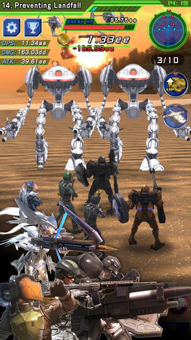 TapWars: Earth Defense Force 4.1