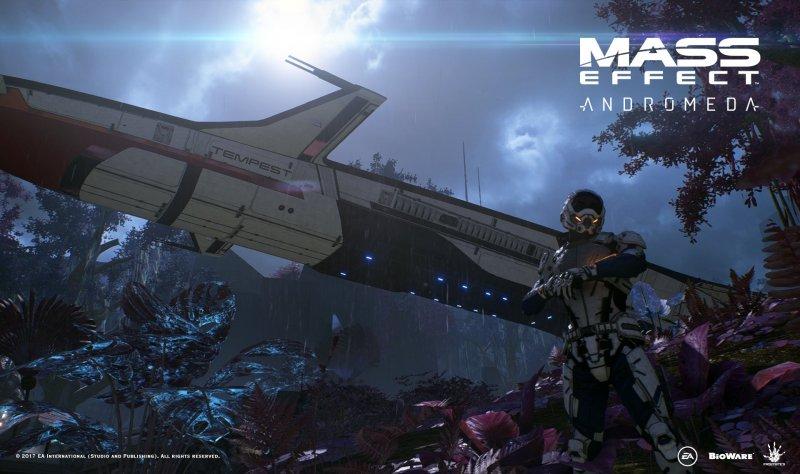 Electronic Arts ha pubblicato una nuova immagine tratta da Mass Effect Andromeda