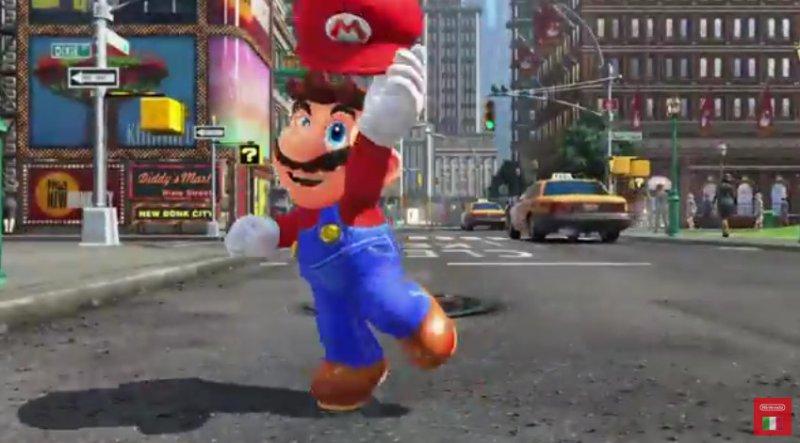 Presentato Super Mario Odyssey per Nintendo Switch