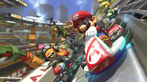 Mario Kart 8 is the best-selling driving game in US history