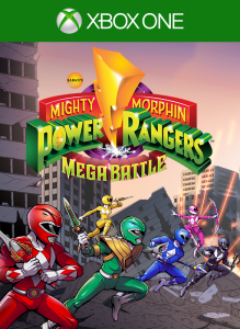 Mighty Morphin Power Rangers: Mega Battle per Xbox One