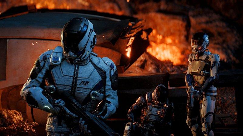 Niente beta multiplayer per Mass Effect: Andromeda