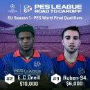 PES League 2017: nuovo video dedicato ai protagonisti della Season One Europea