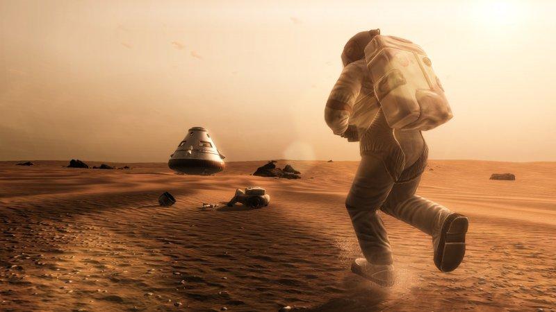 Insetti fastidiosi su Marte