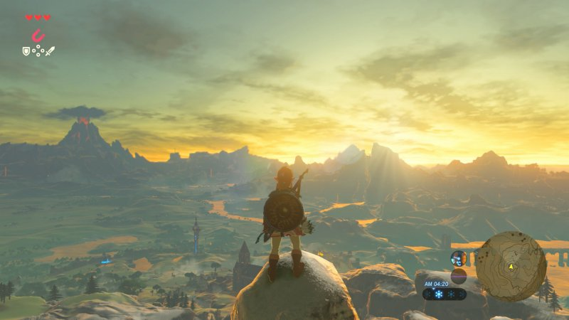 The Legend Of Zelda Breath Of The Wild Recensione Nintendo Switch 180490 Multiplayer It