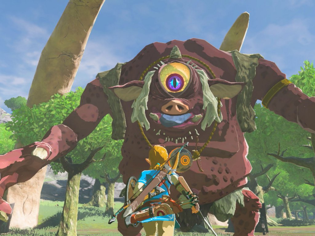 The Legend of Zelda: Breath of the Wild, mod inserts the contents of Hyrule Warriors: Age of Calamity