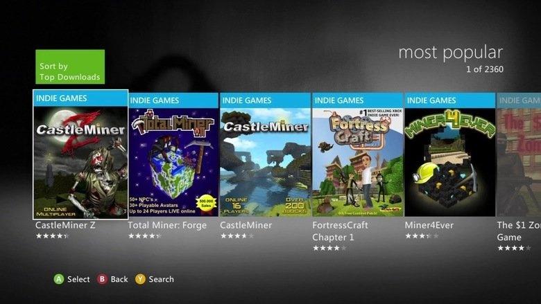 Il ritorno di Xbox Live Indie Games?