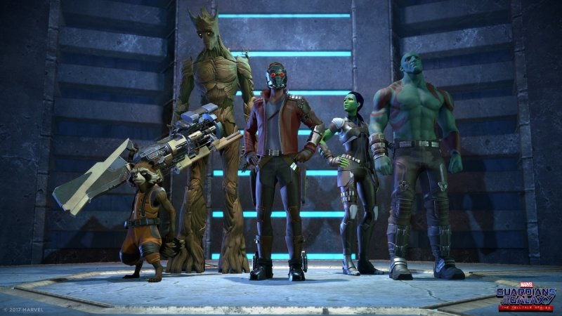 Primi dettagli sul cast di Marvel's Guardians of the Galaxy: The Telltale Series