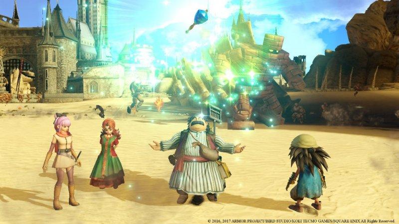 La demo di Dragon Quest Heroes II è disponibile su PlayStation Store