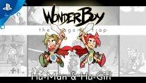 Wonder Boy: The Dragon's Trap - Il trailer di Wonder Girl