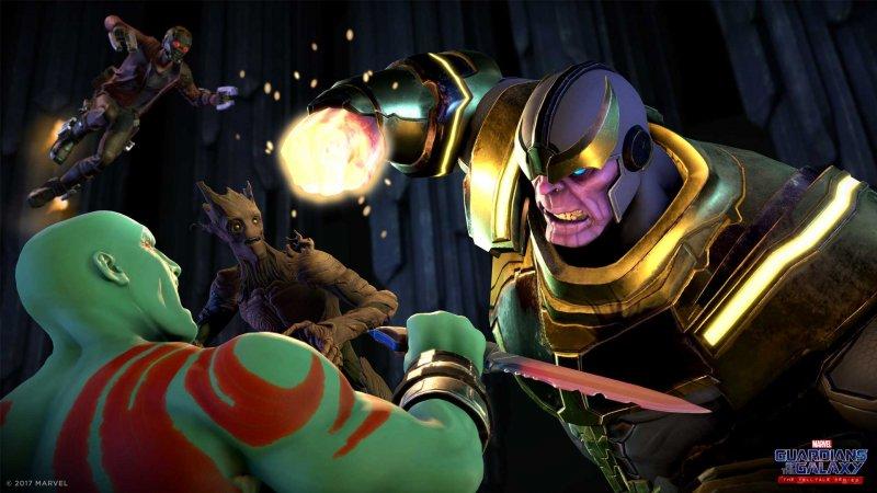 Il primo episodio di Marvel's Guardians of the Galaxy confermato per il 18 aprile, ci sarà anche Thanos