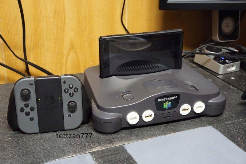 Un utente ha trasformato il suo Nintendo 64 in un dock per Nintendo Switch