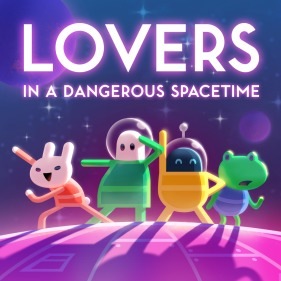 Lovers in a Dangerous Spacetime per PlayStation 4