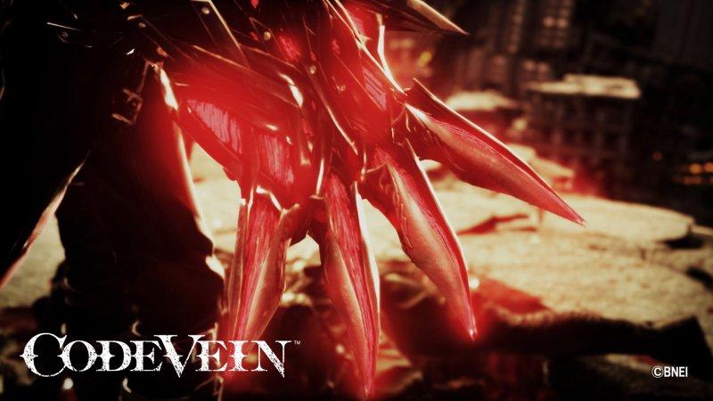 Code Vein, due nuove immagini rivelano un nemico e un'arma
