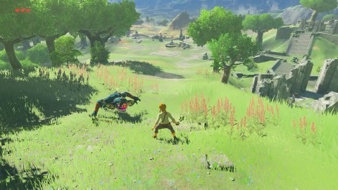 Zelda: Breath of the Wild, someone only now discovers a detail about the barrels