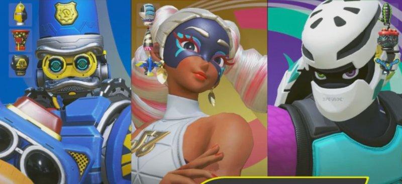 In anticipo sul Direct di stanotte, trapelano in un video alcuni nuovi personaggi di ARMS