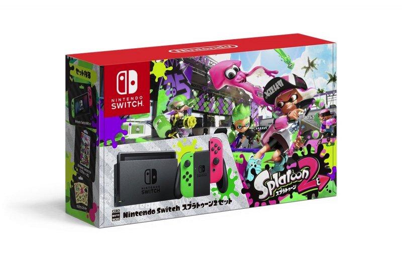 Nintendo vende scatole vuote del bundle di Splatoon 2 in Giappone
