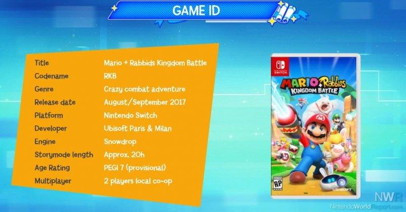 Prime informazioni per Mario + Rabbids: Kingdom Battle