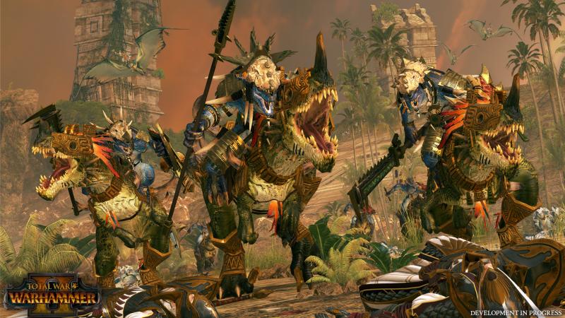 La giungla di Total War: Warhammer II