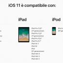 iOS 11 ha raggiunto il 76% dei dispositivi iOS, Android 8 il 4,6%