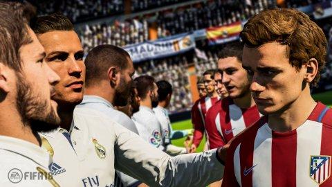 FIFA 18 si conferma al primo posto delle classifiche italiane anche nella settimana dall'1 al 7 gennaio