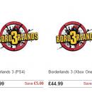 Negozio mette a listino Borderlands 3, annuncio in arrivo all'E3 2017?