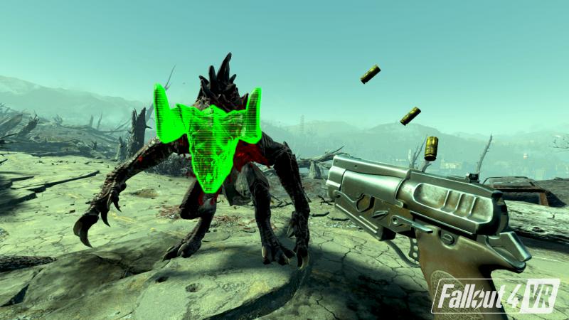 Due passi nella realtà virtuale post-nucleare con Fallout 4 VR