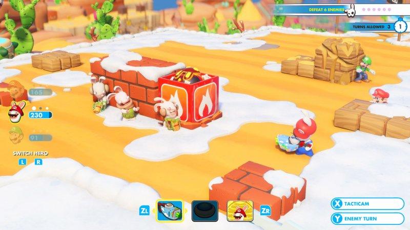 La guida a Mario + Rabbids Kingdom Battle
