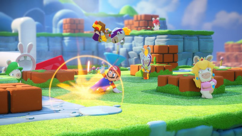 La strana fusione di Mario + Rabbids: Kingdom Battle