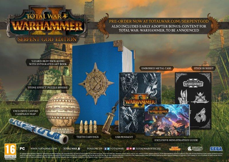 Total War: Warhammer II ha una data d'uscita e diverse edizioni speciali