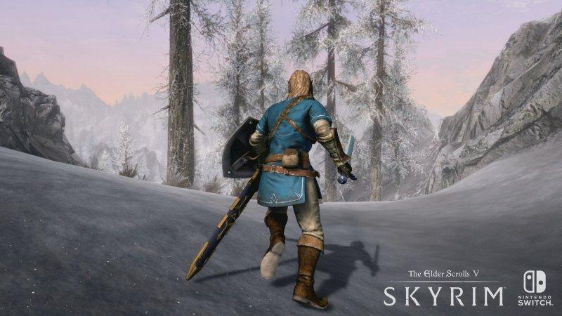 The Elder Scrolls V: Skyrim arriva il 17 novembre su Nintendo Switch, nuovo trailer