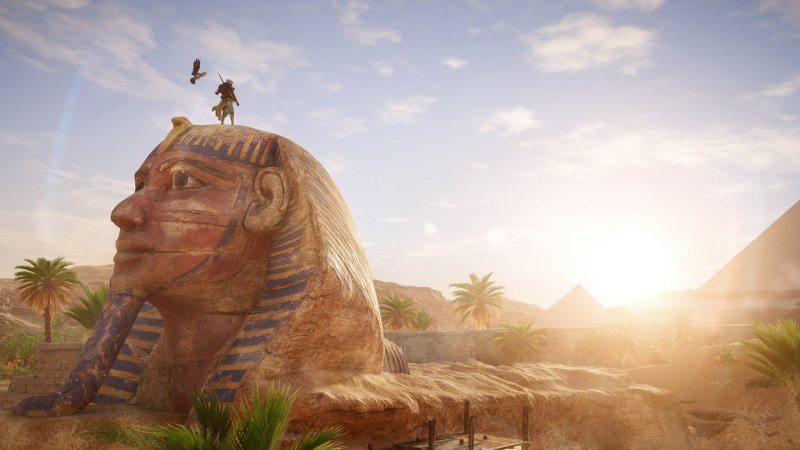 Una lunga partita ad Assassin's Creed Origins
