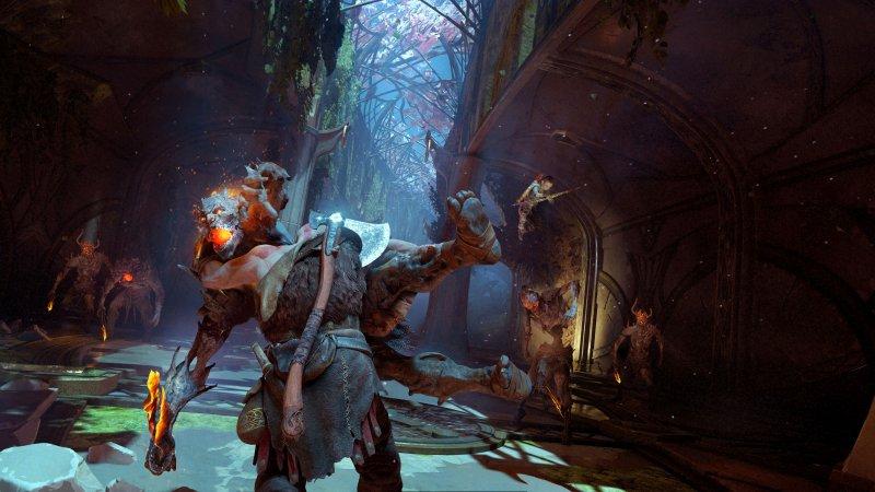 La furia di Kratos