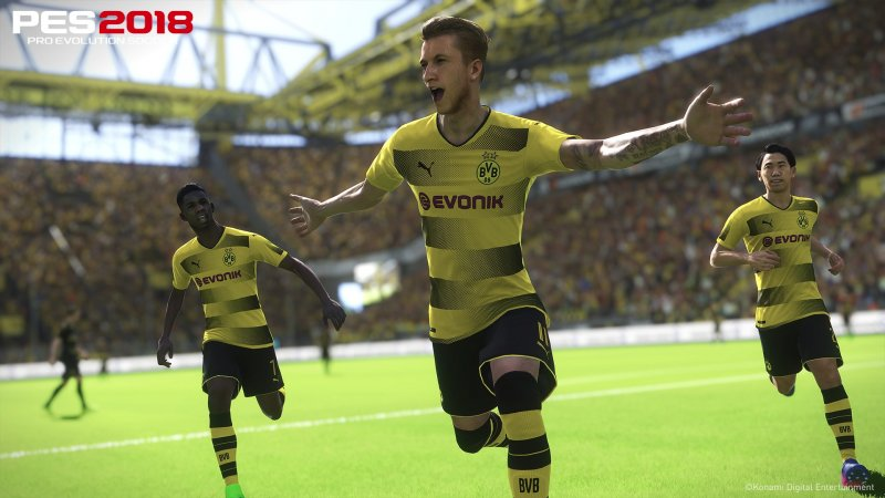 Torniamo in campo con Pro Evolution Soccer 2018