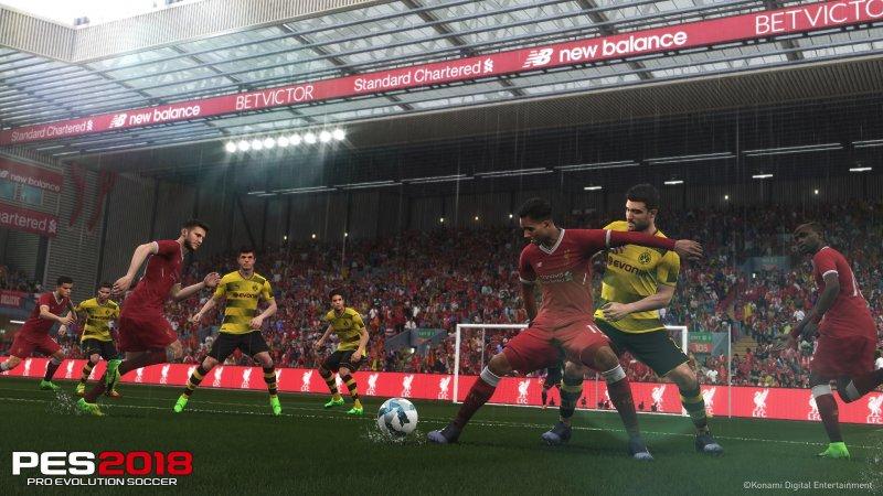 Konami ci riprova con Pro Evolution Soccer 2018