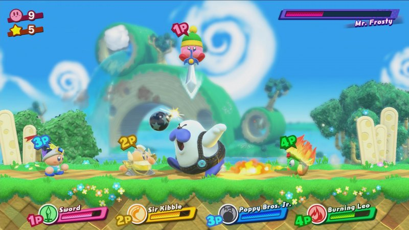 Il batuffolo rosa arriva su Switch con Kirby: Star Allies