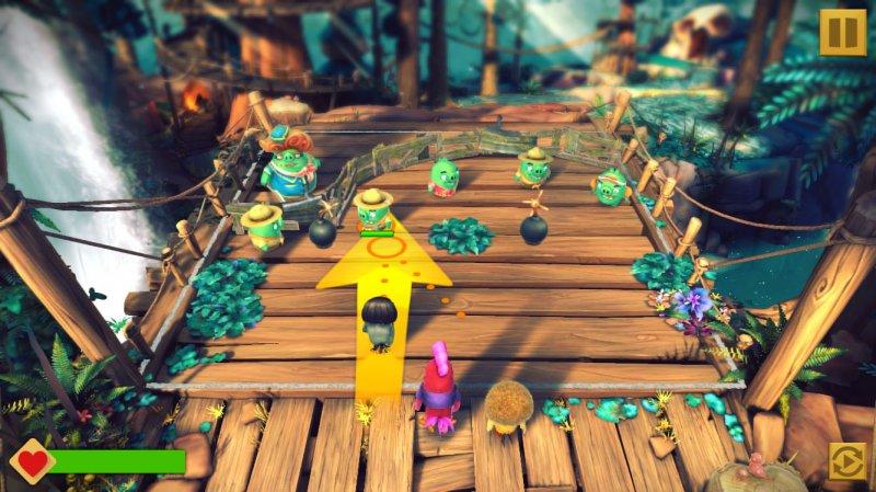 Angry Birds Evolution, l'isola dei rabbiosi