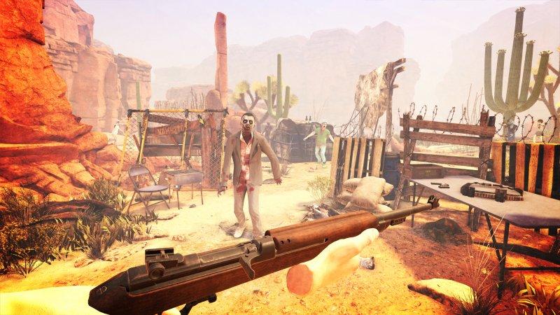 I caldi zombie di Arizona Sunshine su PlayStation VR
