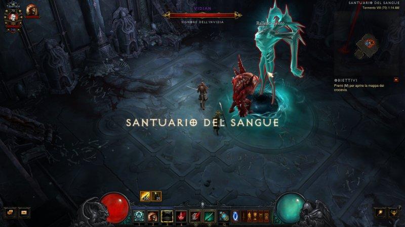 Il campione dell'equilibrio in Diablo III: Ascesa del Negromante