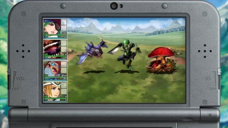 La serie di RPG Maker arriva su 3DS