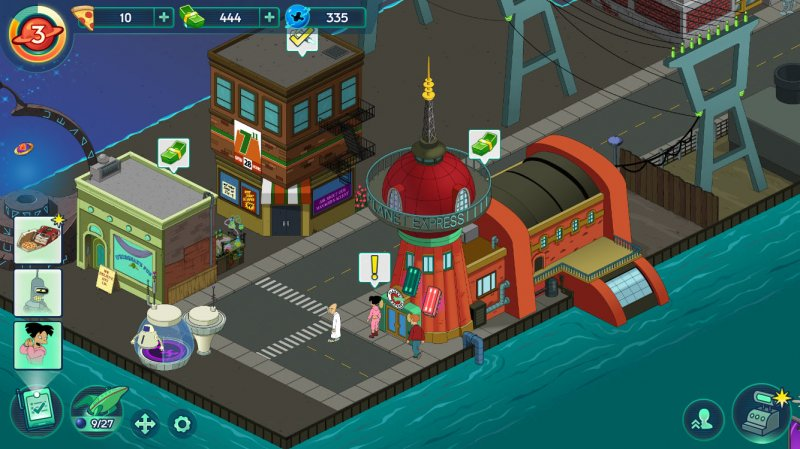 Futurama: Worlds of Tomorrow, per vincere domani