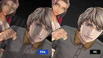 Zero Time Dilemma - Video comparativo tra le versioni PC e PlayStation 4