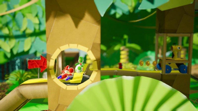 Yoshi's Crafted World, nuovo trailer sulla storia con l'annuncio della data