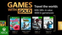 Xbox - Trailer dei Games with Gold di agosto
