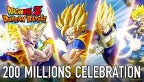 Dragon Ball Z Dokkan Battle - Trailer dei 200 milioni di download